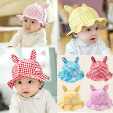 Kids Toddlers Baby Girls Sun Hat Lattice Lace Bucket Cap Hollow Cotton  Hat