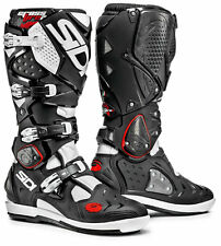 SIDI CROSSFIRE 2 SRS BOOTS BLACK WHITE OFF ROAD MOTOCROSS ENDURO MX CHEAP NEW
