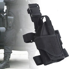 Hunting Waterproof Army Tactical Puttee Thigh Leg Gun Pistol Gun Holster Pouch Q