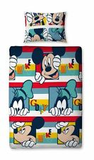 Disney Mickey Mouse Play Single Rotary Duvet Children Bedding Set *NEW*