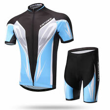 Cycling Kit Men's Bicycle Clothing Bib Shorts Bike Wear Summer Short Sleeve Set