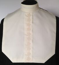 English Hunt Seat Ratcatcher Cream Color Lace Front Show Bib Dickie