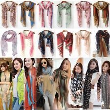 Fashion Womens Ladies/Girls Various Pattern Print Large Soft Long Scarf Shawl