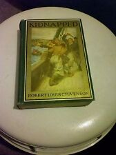 Vintage Kidnapped By Robert Louis Stevenson Illustrated Hardcover