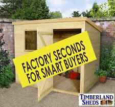 Pent Garden Sheds Tanalised Factory