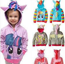 New boys/grils cute My Little Pony Angeltee Wings kids jacket hoodie sweater