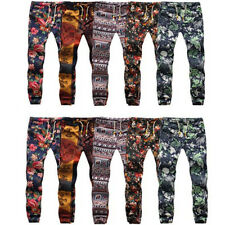 Mens Casual Training Sport Sweat Pants Jogging Jogger Trousers Tracksuit Bottoms
