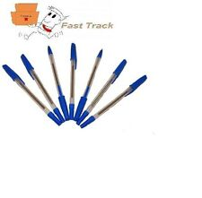 HIGH QUALITY BLUE BALL POINT BALLPOINT BIRO PENS  *FREE PP*
