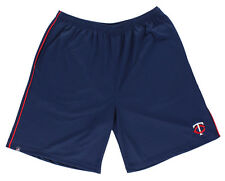 Majestic Mens Minnesota Twins Victory Shorts Blue