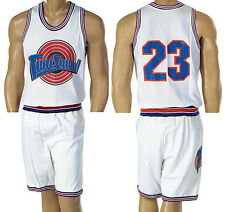 SPACE JAM basketball JERSEY SHORTS SET 23 Tune Squad Halloween Jordan