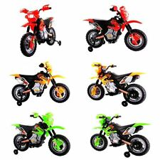 Kids Dirt Bike Style Ride On Electric Childrens 6v Battery Toy
