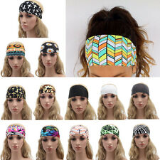 New Hot Woman Wide Stretch Yoga Headband Hair Band Exercise Sport Headwrap