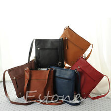 Fashion Womens Leather Satchel Cross Body Shoulder Messenger Bag Handbag Stylish