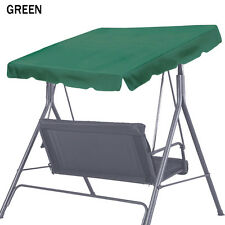"Patio Outdoor 73""x52"" Swing Canopy Replacement Porch Top Cover Seat Furniture"
