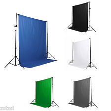 Best 5 Colors Screen Chromakey Backdrop 6x9 Muslin Video Background New Quality