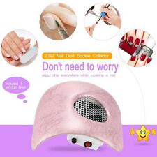 Nail Dust Suction Collector Fingernail Dirt Collection Machine Nail Tool Y9U3