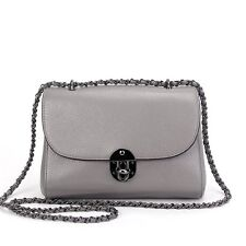 Elegant  Rectangular Leather Crossbody Purses Ladies Weekend Shoulder Bags