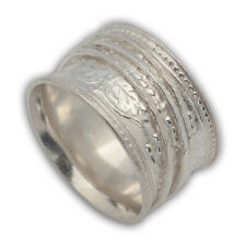 Sterling Silver 925 Spinning Ring 3 spinners size 6 - 9