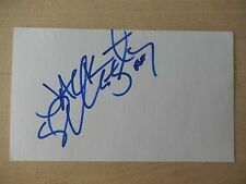 """Misty May-Treanor Autographed 3"""" X 5"""" Index Card"""