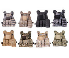TACTICAL VEST MILITARY AIRSOFT MOLLE COMBAT ASSAULT CARRIER VEST MOLLE VEST-206