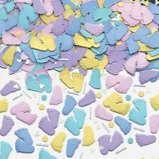 Pitter Patter | Baby Feet Baby Shower | Party Table Confetti | Decoration 1-5pk