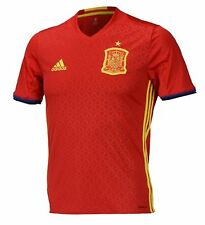 Adidas Men Spain Espana Euro 16/17 Climacool Replica S/S Jersey Football AI4411