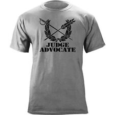 US Army Judge Advocate Branch Insignia Sword & Pen Veteran Graphic T-Shirt