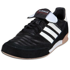 adidas Men's Mundial Goal Indoor Soccer Shoes Black/White 019310