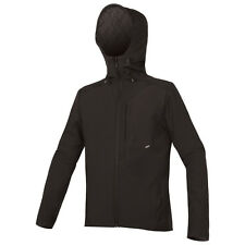 Endura Men's Urban Softshell Cycling Jacket -Hooded -Rear Pocket -Reflective