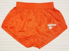BRAND NEW HOOTERS GIRL DOLPHIN STYLE ORANGE SHORTS 100% AUTHENTIC XXXS - M