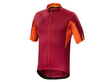 Mavic Aksium Jersey - Red/Orange