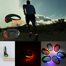 Bright LED Shoe Clip Light Running Walking Bike Cycling Night Safety ACT