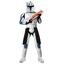 Deluxe Capatin Rex Costume Star Wars The Clone Wars Halloween Fancy Dress