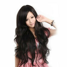 Sexy Womens Girls Fashion Style Wavy Curly Long Hair Full Wigs Cosplay
