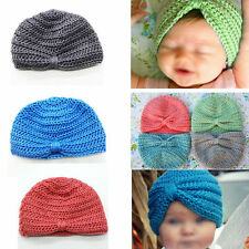 Lovely Comfy Baby Girls Boys Infant Toddler Knit Crochet Cap Soft Beanie Hat