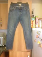 Women's Blue Skinny New Look Jeans Size 12 Waist 32