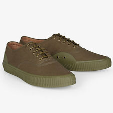 New Fred Perry - Laurel Wreath Newstead Canvas Shoe British Olive