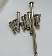 304 Stainless Steel Select Ø10mm Ø12mm Ø14mm Ø16 Ø20mm Dowel Pin Rod With Hole