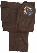 MENS MARC DARCY DRESSY CHECK TROUSERS STYLE JAMES - TAN