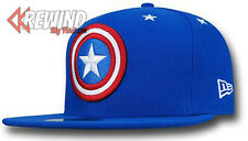 CAPTAIN AMERICA Shield Civil War New Era 59Fifty Fitted Hat NEW! 7 5/8,  8