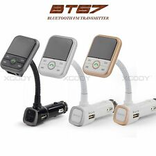 Bluetooth FM Transmitter Car Charger Handsfree Kit SD MP3 Player Remote Control