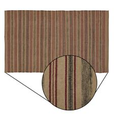 Red Tan and Grey Beacon Hill Rectangle Wool Area Rug