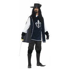Musketeer Costume Adult Halloween Fancy Dress