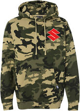 Factory Effex Official Licensed SUZUKI Camo Pullover Hoodie (Camo) Choose Size