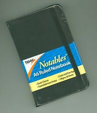 Notables A6 Soft Feel Ruled Pocket Notebook - Expandable Pocket - Like Moleskine