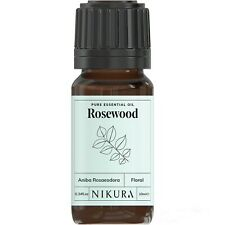 10ml ROSEWOOD ESSENTIAL OIL - 100% Pure and Natural (Aromatherapy)