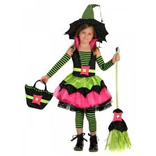 Spiderina Witch Costume Kids Halloween Fancy Dress