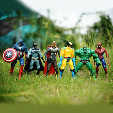 MARVEL the Avengers Action Figures Set of 5- Captain america Iron Man thor hulk