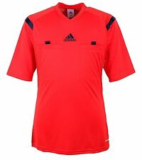 Adidas Men Referee 14 Climacool Red S/S Top Jersey Football Soccer GYM D82286