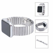 Butterfly Lock Link Bracelet Watch band Strap For Apple Watch Stainless Steel